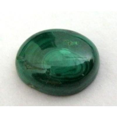 Natural Malachite / Kidney Oval Cabochon 5.60 Carat (MC-05)