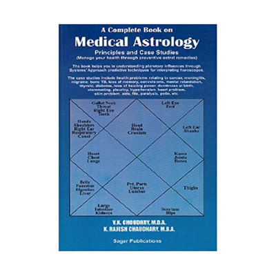 Medical Astrology (Manage Your Health through Astral Remedies) -(BOAS-0442)