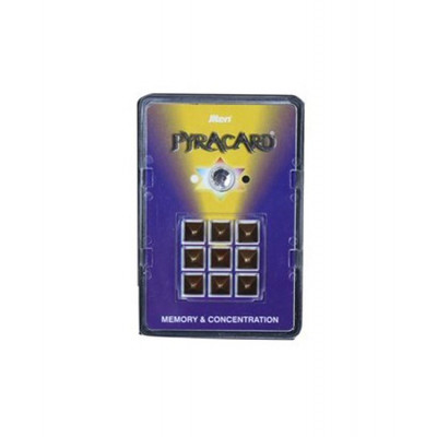 Pyracard - Memory and Concentration Pyramid (PCMC-001)