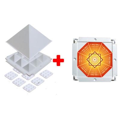 Multier Plus (multier with booster plate) Vastu Tool Pyramid -(PVMUP-001)