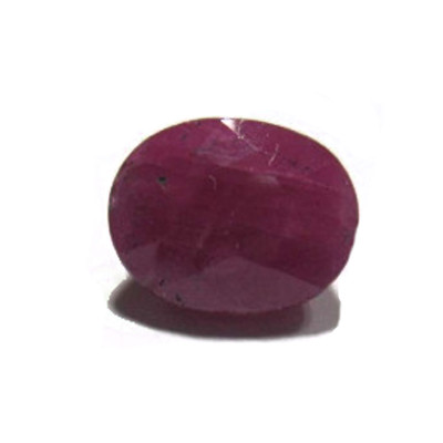Natural Ruby Manikya - (Chuni) Oval Mix Gemstone - 4.60 Carat (RU-24)