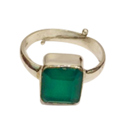 Onyx Ring (Natural)- Square (GEOR-002)