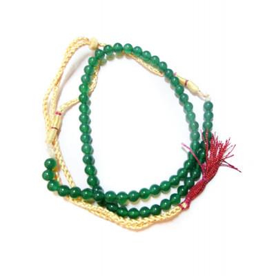 Green Onyx Mala / Rosary - 06 mm (MAGO-001)