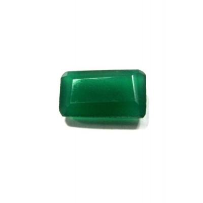 Green Onyx Octagon Step Gemstone - 6.20 Carat (ON-14)