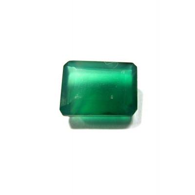 Green Onyx Octagon Step Gemstone- 5.15 Carat (ON-16)
