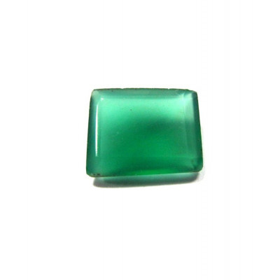 Green Onyx Octagon Step Gemstone - 5.15 Carat (ON-17)
