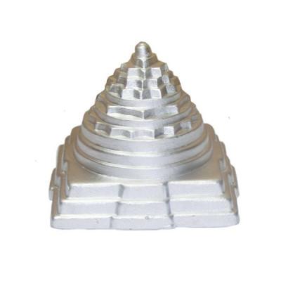 Parad (Mercury) Meru Shri/ Shree Yantra -200 Gm- (PAMS-003)