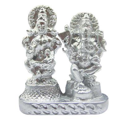 Parad (Mercury) Lakshmi Ganesh- 50 Gm - (PALXG-002)