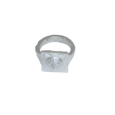 Parad Shree Meru Yantra Ring- 10 Gm- (PAPR-001)