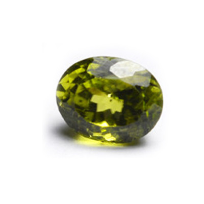 Peridot Gemstone Olive Green 3.85 Carat (PD-40)