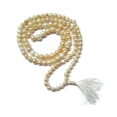 Pearl (Mukta, Moti) Mala / Rosary - 06 mm
