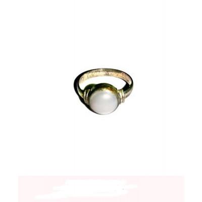 Pearl (Mukta, Moti) Ring (GERC-001)