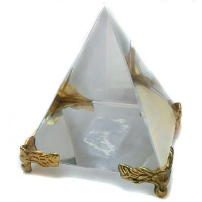 Crystal Pyramid on stand - 4 cm (PYCS-001)