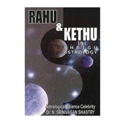 Rahu & Ketu In Brighu  Astrology in English -(BOAS-0746)