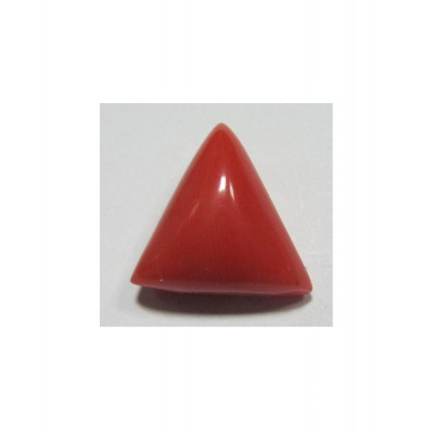 Red Coral Triangular - 6.10 Carat (RC-16)