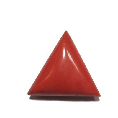 Red Coral Triangular - 10.30 Carat (RC-17)