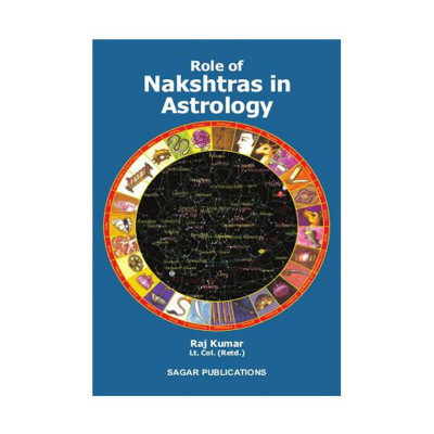 Role of Nakshtras in Astrology by Raj Kumar - English (BOAS-0167)