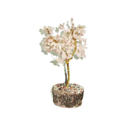 Rose Quartz Tree - 20 cm