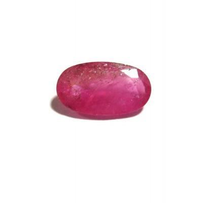 Natural Ruby Manikya - (Chuni) Oval Mix Gemstone 5.10 Carat (RU-23)