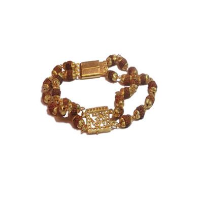 Rudraksha Om Bracelet (RUOB-001)
