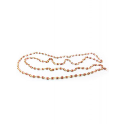Rudrani Mala / Rosary with Golden Cap (MARD-002)