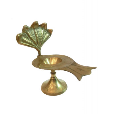 Shivling Stand in Brass (Jalhari)