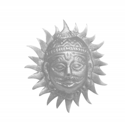 Parad Sun Face -(Surya Dev Face) - 100 gm (PASU-001)