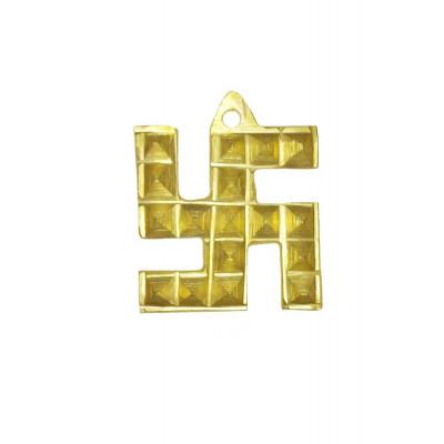 Brass Swastik Pyramid - 38 gm (VABSP-001)