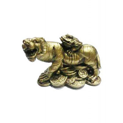 Tiger with Toad - 5 cm (FETT-001)