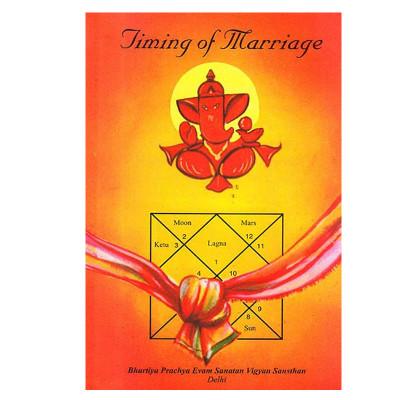 Timing of Marriage By M. N. Kedar (BOAS-0235)
