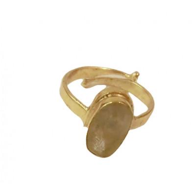 Yellow Sapphire (Pukhraj/ Pushparag) Ring (GEYR-001)