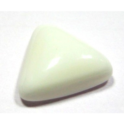 White Coral Triangular - 4.95 Carat (WCB-08)