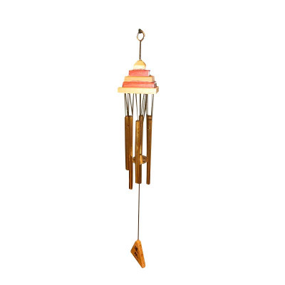 Pagoda Wind Chime with Six Rods (FEMWC-011)