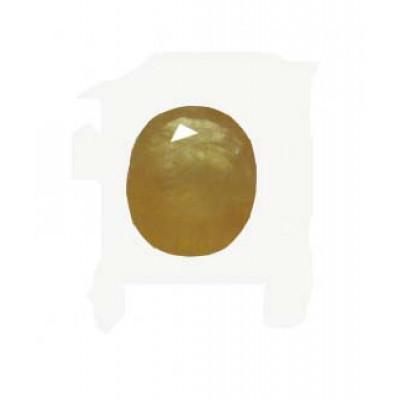 Yellow Sapphire (Pukhraj) Oval - Mix Gemstone 4.30 Carat (YS-42)