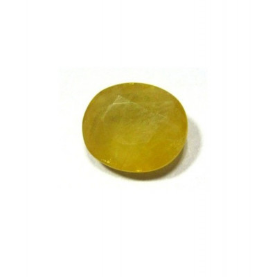 Yellow Sapphire (Pukhraj) Oval Mix Gemstone- 4.70 Carat (YS-09)