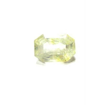 Yellow Sapphire (Pukhraj) Octagon Step 6.75 Carat (YS-18)