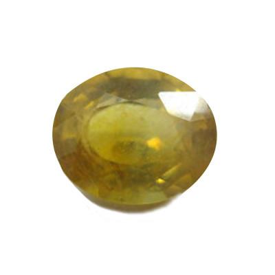 Yellow Sapphire (Pukhraj) Oval Mix Gemstone - 8.10 Carat (YS-37)