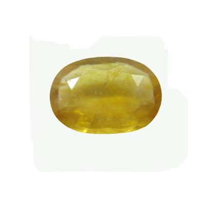 Yellow Sapphire (Pukhraj) Oval Mix 6.35 Carat (YS-62)