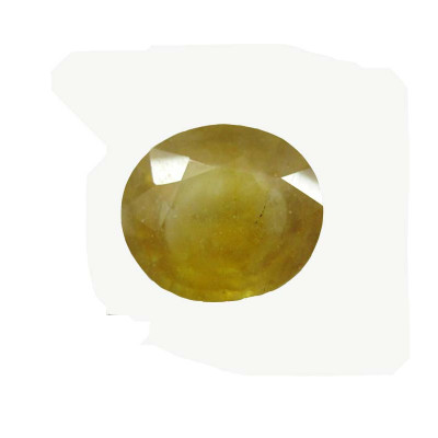 Yellow Sapphire (Pukhraj) Oval Mix Gemstone 6.80 Carat (YS-69)