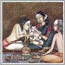 Puja (Propitiation) for Benefic Influence on a New-Born Child Yagya  Superior