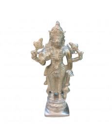 Parad (Mercury) Narayan Vishnu Idol - 450 gm - (PAVI-002)