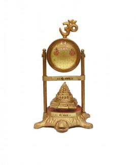 Maha Meru Shri Yantra On Tortoise (VAVY-003)
