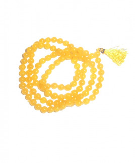 Hakik Mala / Rosary Yellow - 05 mm (MAHA-006)