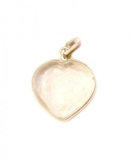 Crystal Transparent Heart Shape Pendant / Locket