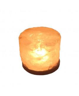 Himalayan Rock Salt Candle Lamp - 12 cm (VAHL-008)