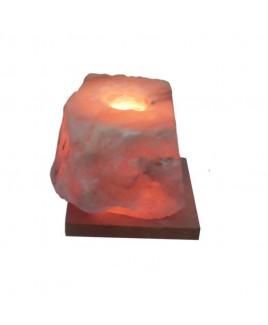 Himalayan Rock Salt Candle Lamp - 12 cm (VAHL-007)