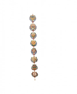 Eight Auspicious Symbols Hanging Vertically - 107 cm (FEEAS-005)