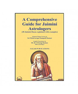 A Comprehensive Guide for Jaimini Astrologers by  Dr. K. V. Pratap Kumar in English- (BOAS-0019)