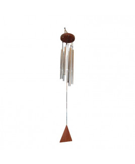 Metallic Wind Chime with Six Rods (FEMWC-007)