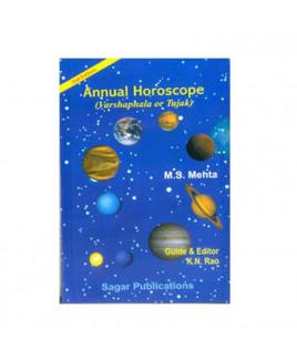Annual Horoscope Varshphala or Tajak by M. S. Mehta (BOAS-0175)